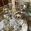Thumbnail: Large silver glass ornament