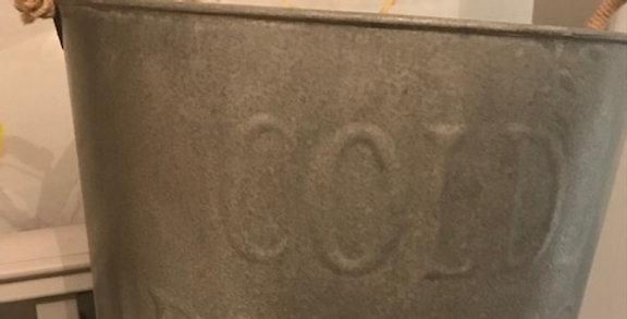Cold Drinks Aluminium Bucket