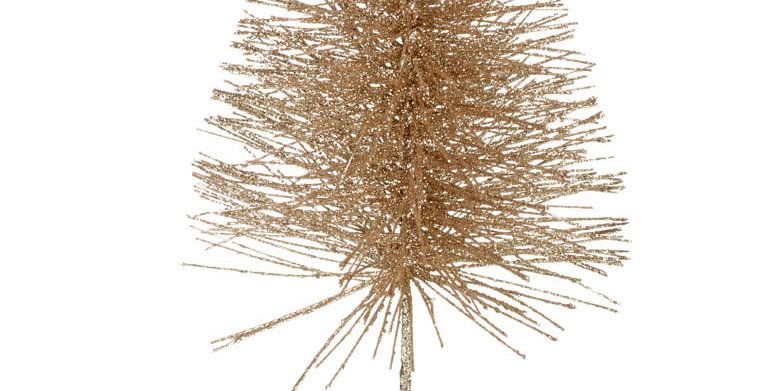 Glitter Wire Christmas Tree