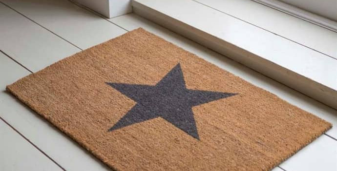 Large Star Mat