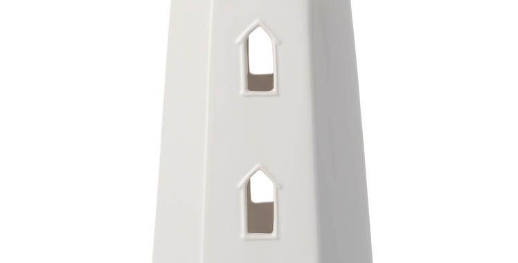 White Ceramic Lighthouse