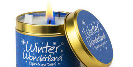 Lily Flame Winter Wonderland Scented Candle