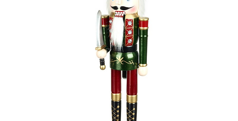 Traditional Wooden Standing Nutcracker