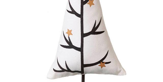 Fabric Christmas tree on stand