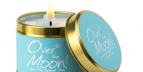 Lily Flame Over the Moon scented candle