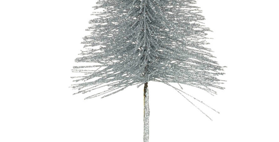 Silver Wire Christmas Tree