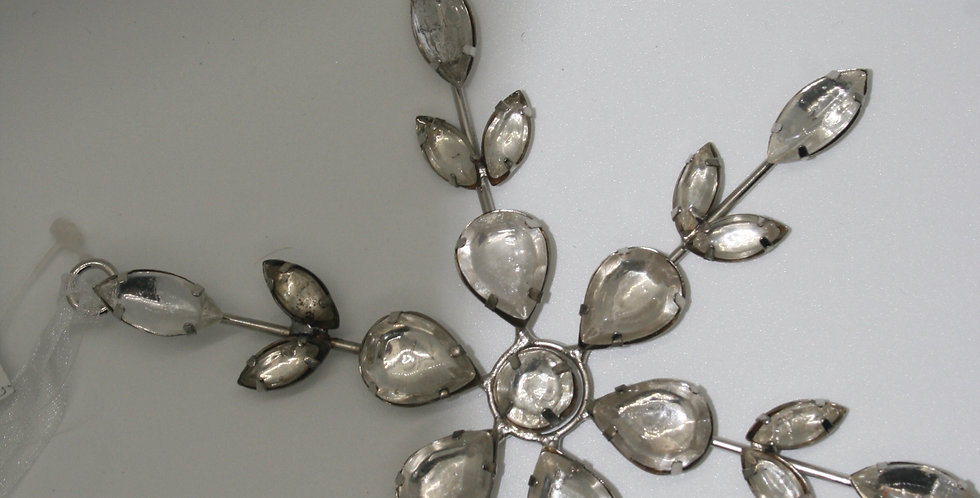 Art Deco Inspired Snowflake decoration