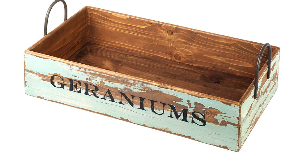 Geranium Tray/crate