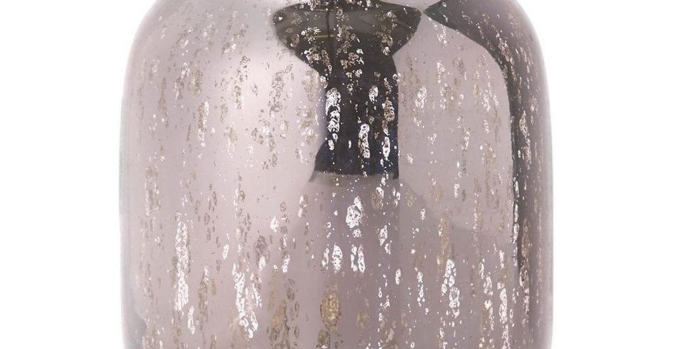 Hurricane Miranda Glass vase Pink