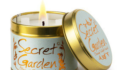 Lily Flame Secret Garden Scented Candle