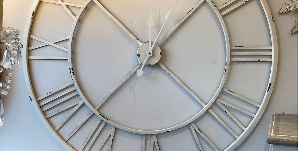 Contemporary Large Skeleton Wall Clock