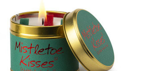 Lily Flame Mistletoe Kisses Scented Candle