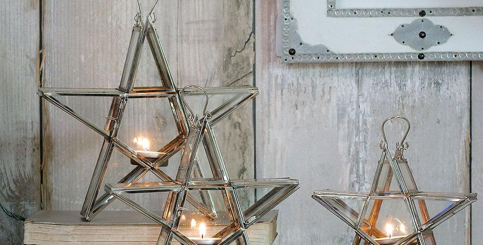 Moroccon Star T Light Holder