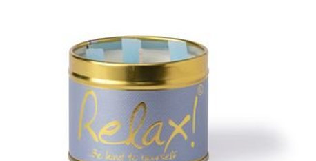 Lily Flame Relax Scented Candle
