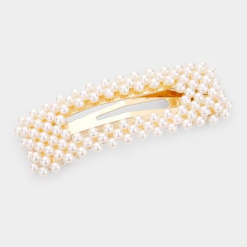 Pearl Hair Clip #2