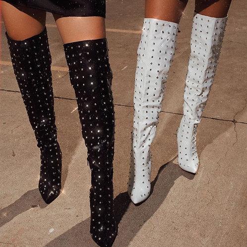 Mafia Blinged Boots