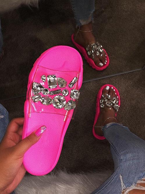 Bejeweled Neon Slides
