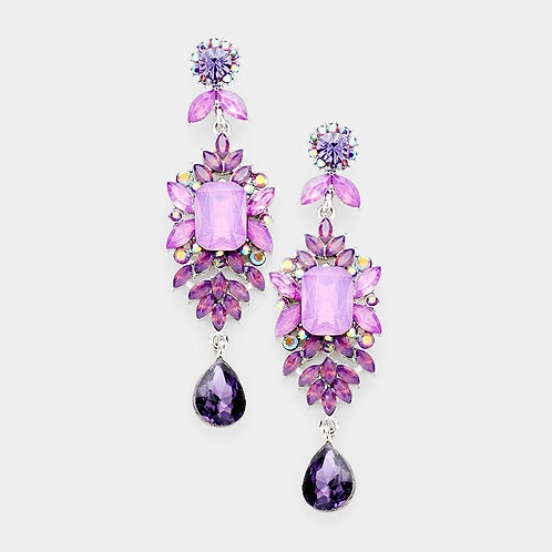 Pastel Crystal Earrings