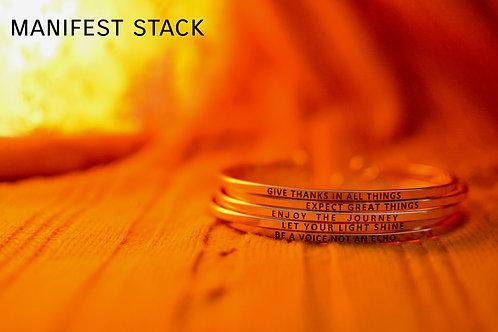 A. Rickbook's Affirmation Bracelets