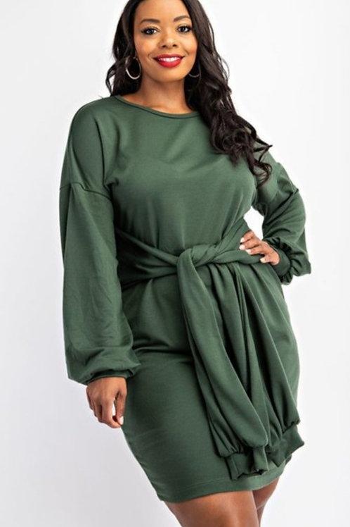 Amber Sweatshirt Dress