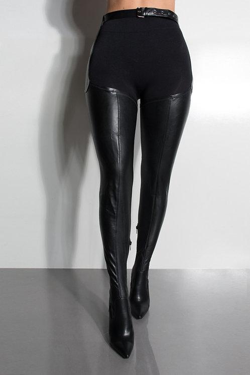 Rihanna Belt Boots