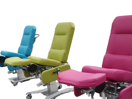 Customize recliners for nursing operations