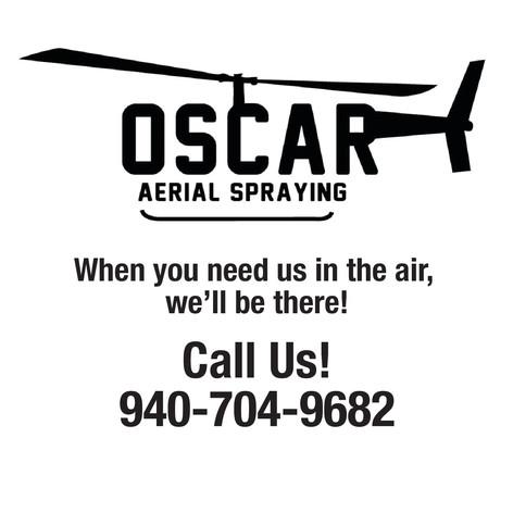 Oscar Aerial Spraying