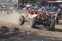 Offroad vehicle going fast