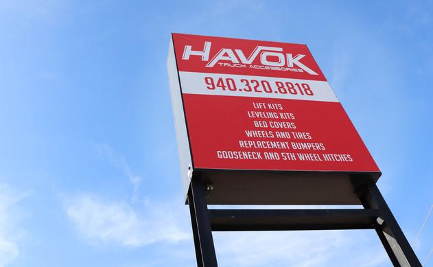 Havok Signage