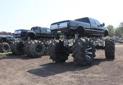 Massive f250 monster trucks