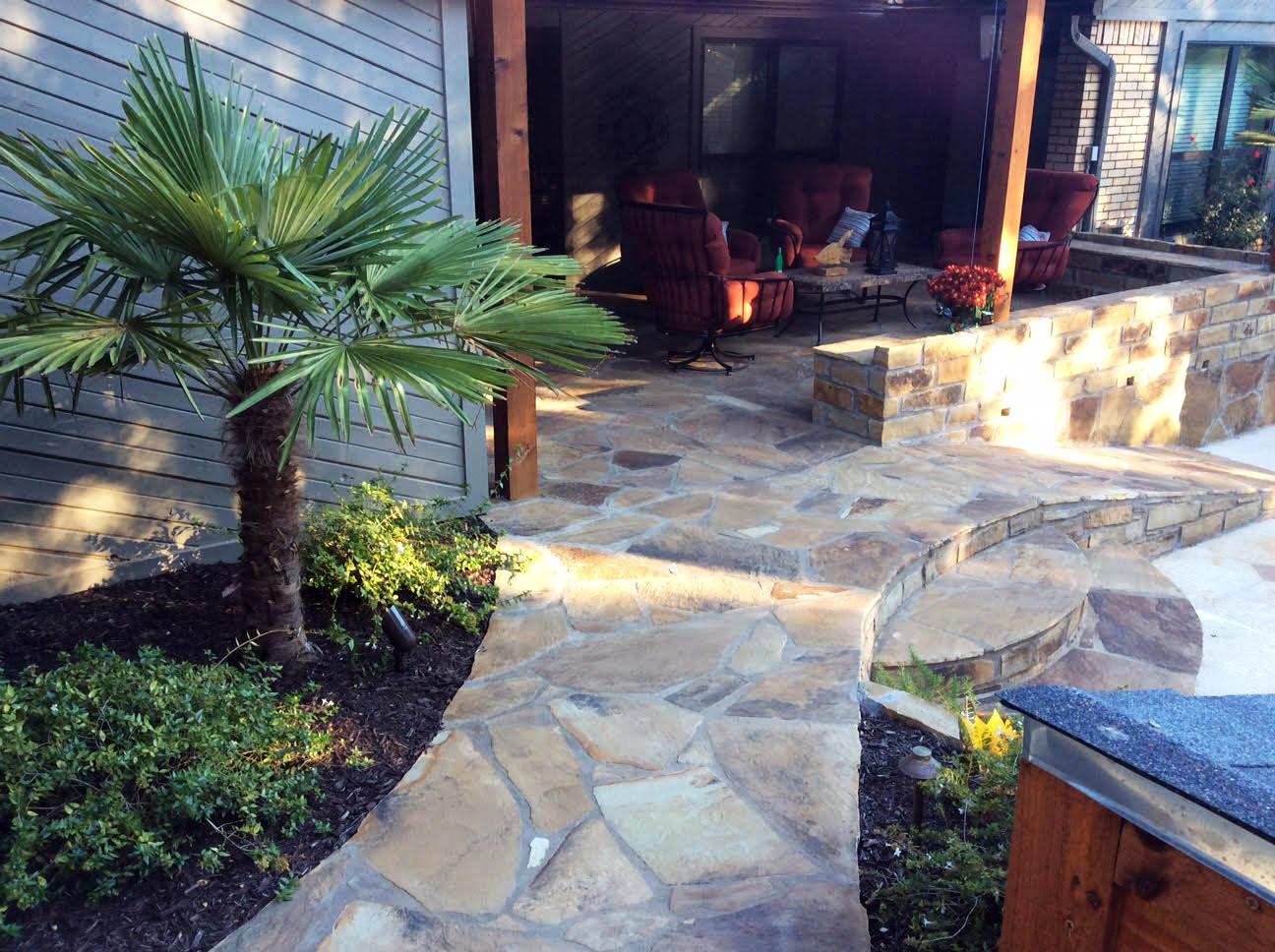 Stonework and Arbors
