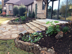 Stonework and Landscaping