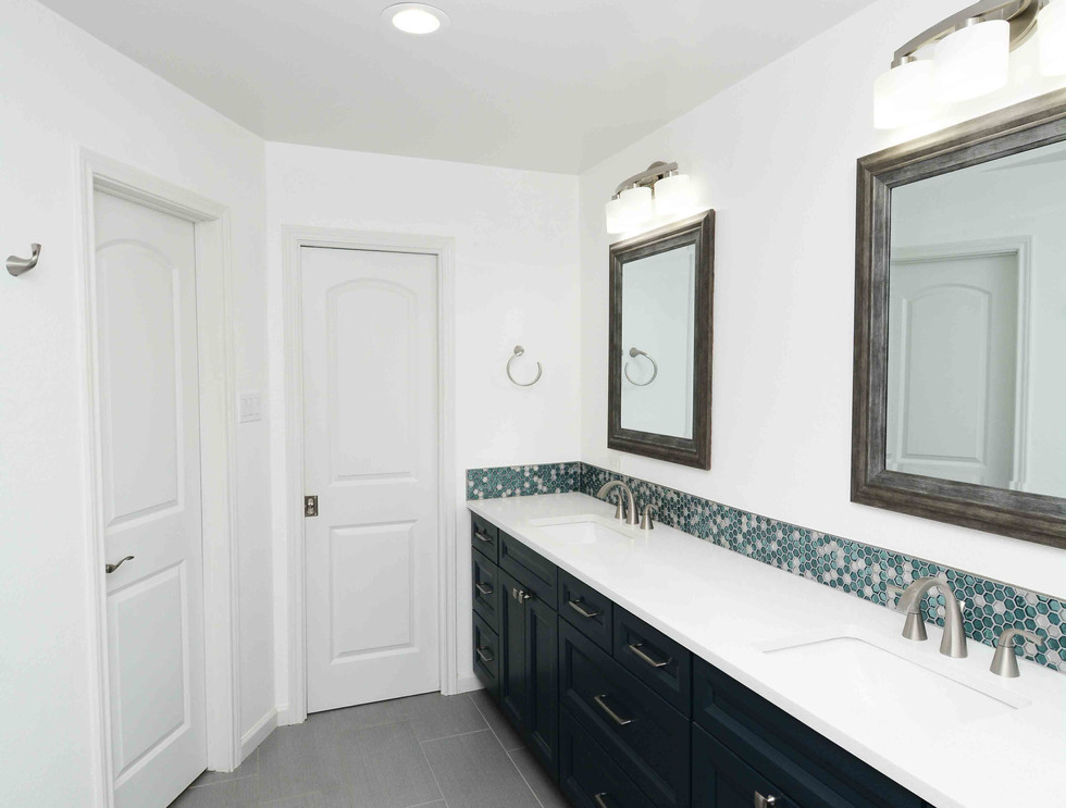 Complete home remodel. Simple elegance on a budget.