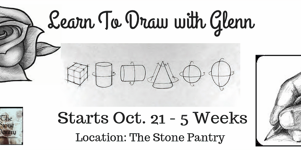 Learn To Draw 5 Week Series