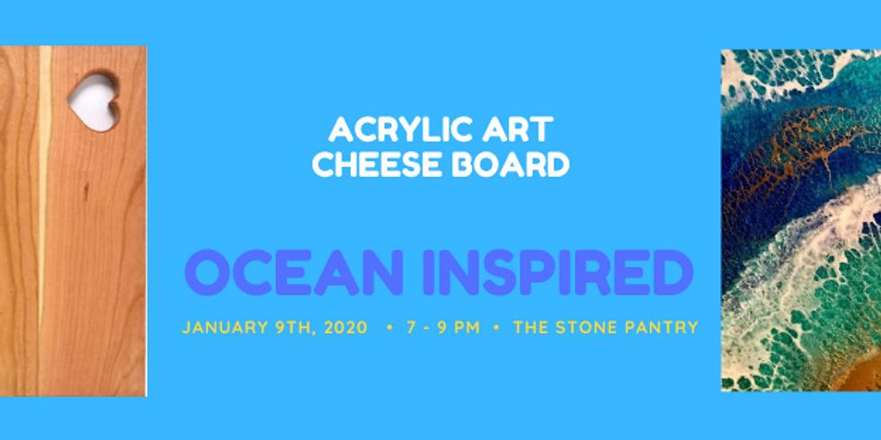 Acrylic Art / Cheese Board