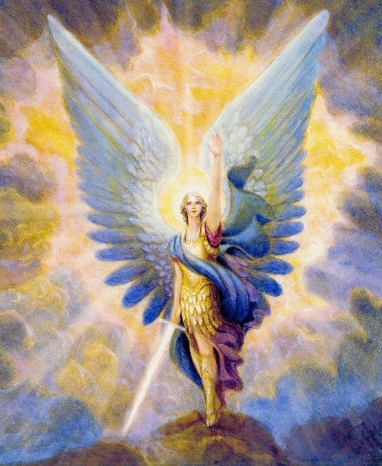 Archangel Michael energy clearing