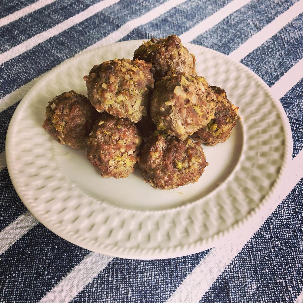 Veggie Meatballs