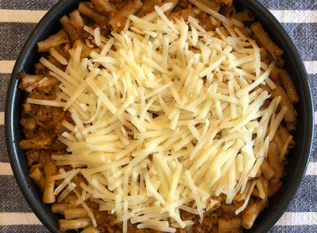 Easy Cheesy Baked Penne