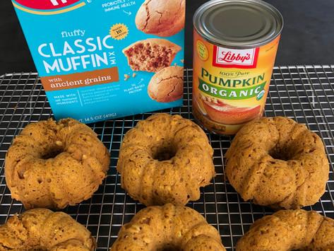 Enjoy Life Baked Pumpkin Oat Donuts