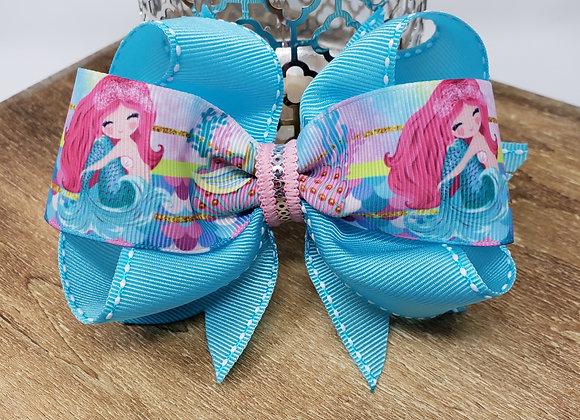 Blue Mermaid Boutique Bow