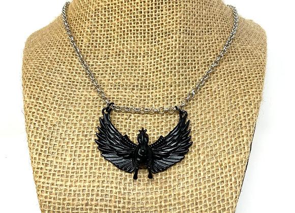 Gothic Black Pegasus