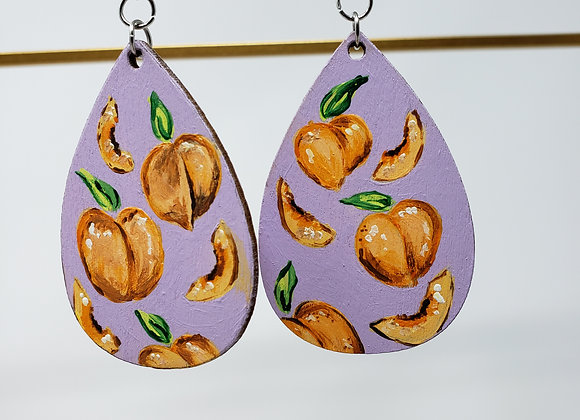 What a Peach Earrings :EarlyBird Boutique