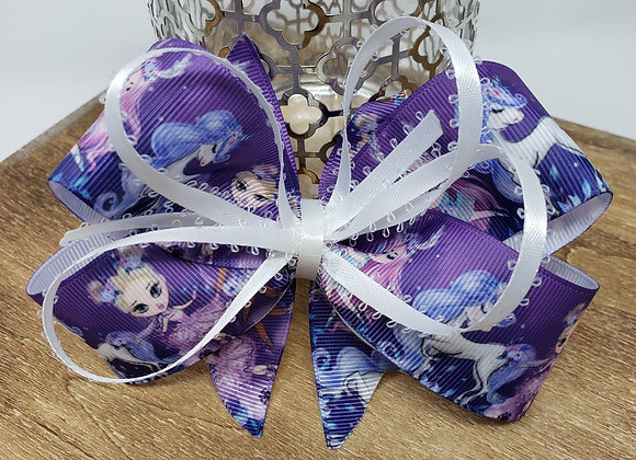 Unicorn and dancers Boutique Bow