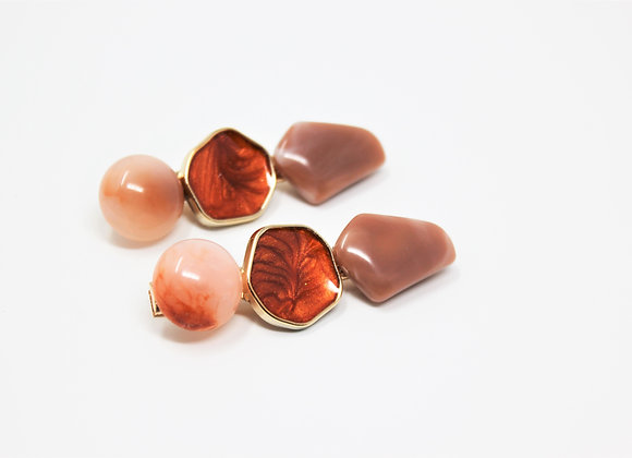 Copper and Marbled stones Barrett