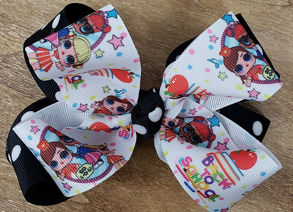 Back to School Boutique Bow