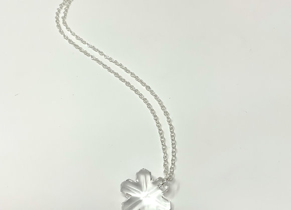 Red Truck Designs: Crystal Snowflake Necklace