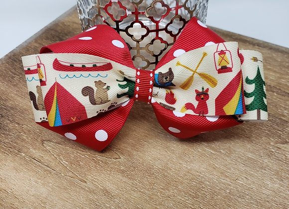 Gone Camping Boutique Bow
