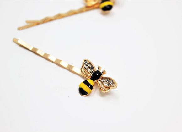 Pair of Bee Bobbies