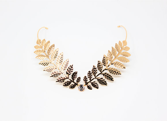 The Golden Branch V shaped hair Jewelry