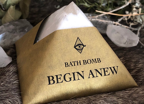 Begin Anew Bath Bomb